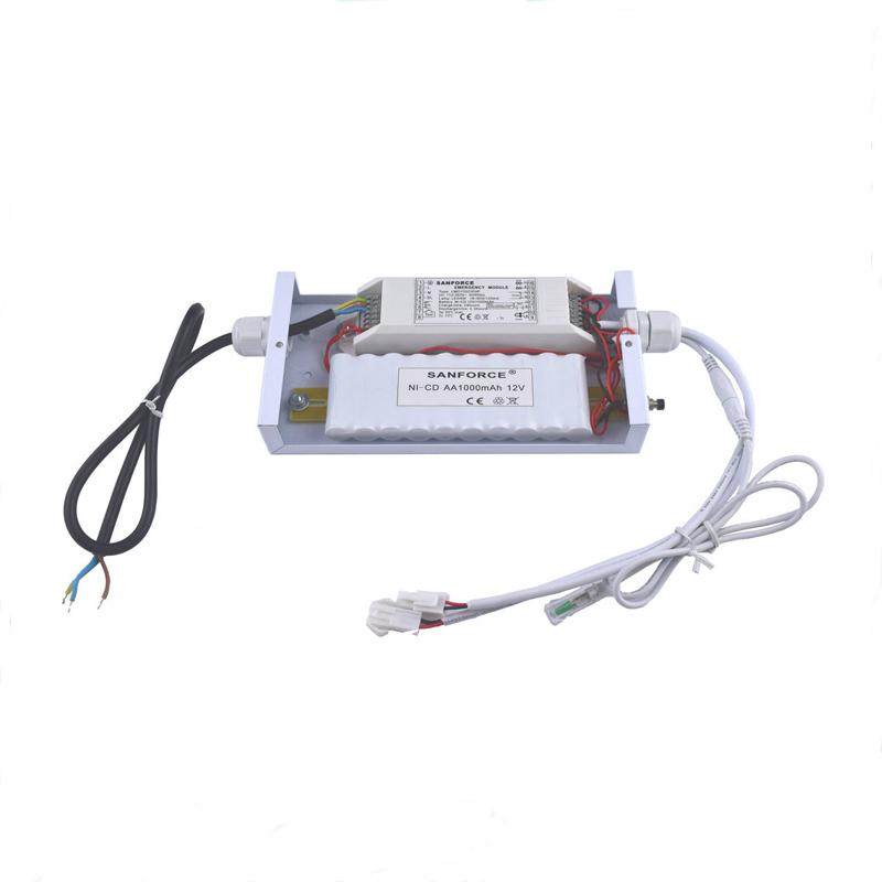 1~25W 9-90V DC LED Panel Emergency Pack