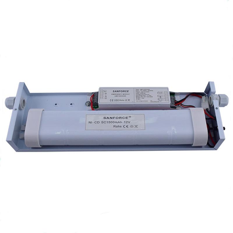 Emergency Output 1~60W 220~230V AC Emergency Ballast for LED T8