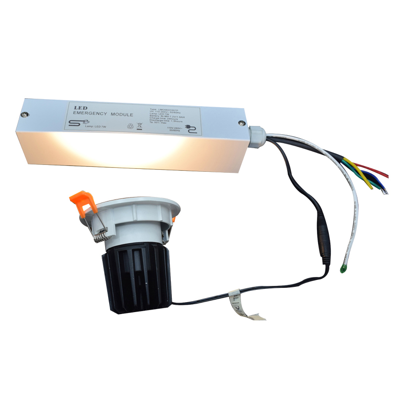 Emergency Power 1~25W   12-90V DC Dimmable Self Test Emergency Ballasts