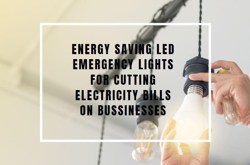 energy saving emergency led lights
